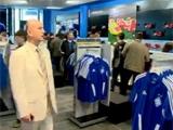 Магазин «Динамо» на «Олимпийском» (ВИДЕО)