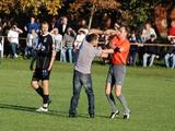 В матче чемпионата Львовщины президент клуба избил судью прямо на поле