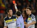 Терри дисквалифицирован на три еврокубковых матча