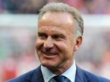 Румменигге: «Бавария» испытывает большое уважение к «Барселоне»