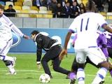 Фанаты «Динамо» «провели работу» с выбежавшим на поле