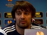 Александр ШОВКОВСКИЙ: «Выводы из первого матча с «Эвертоном» сделаны»
