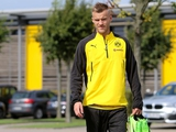 Ярмоленко пропустил сегодняшнюю тренировку «Боруссии»