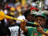 ФИФА может запретить вувузелы на время ЧМ-2010