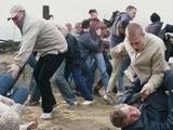 Фанаты «Зари» были избиты в Донецке перед матчем с «Шахтером»