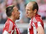 Рибери сцепился с Роббеном в раздевалке «Баварии» после матча с «Реалом»