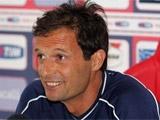 Массимилиано Аллегри: «Не удивлен таким слабым стартом «Милана»