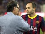 Мартино: «Иньеста подпишет с «Барсой» новый контракт»