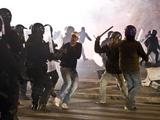 Болельщики «Лацио» и «Ромы» устроили потасовку после матча