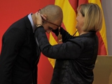 Гвардиола получил медаль парламента Каталонии