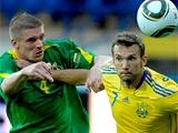 Подготовку к Евро-2012 сборная Украины начала с разгрома Литвы (ВИДЕО)