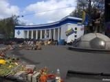Команда Петра Порошенко и динамовцы совместно восстанавливают центр Киева