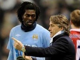 Манчини: «У Адебайора нет будущего в «Манчестер Сити»