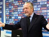 Президент «Наполи» обвинил Сарри в потере чемпионского титула