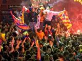 Фанаты «Барселоны» не дали выспаться игрокам «Интера» перед матчем