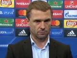 Сергей РЕБРОВ: «Соперник не дал нам возможности провести контратаки, которые мы планировали»