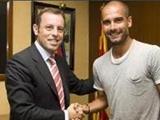 Гвардьола близок к продлению контракта с «Барселоной»