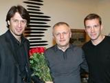 Игорь Суркис принимает поздравления