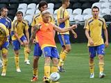ФОТОрепортаж: тренировка сборной Украины в Донецке (8 фото)
