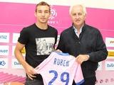 Марко Рубен: «Перед переходом в «Эвиан» консультировался с Бертольо и Бетао»