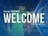 Официально: «Динамо» арендовало Бойко у «Бешикташа» до конца сезона