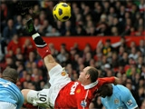 Руни сотворил гол-шедевр в дерби c «Манчестер Сити» (ВИДЕО)