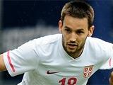 Милош Нинкович — в стартовом составе Сербии на матч с Германией