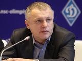 Игорь Суркис: «Клуб сделает все возможное, чтобы стадион и памятник были восстановлены»