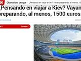 Испанская Marca уже пугает фанов «Реала» дороговизной поездки в Киев на финал Лиги чемпионов
