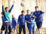 Открытая тренировка «Динамо» перед матчем с «Брагой»: ФОТОрепортаж (34 фото)