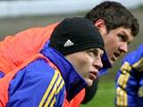 ФОТОрепортаж: тренировка сборной Украины в Таллине (16 фото)