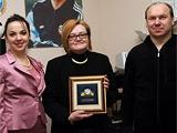 Семье Лобановского передали звезду «Патриот футбола»