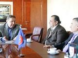 Анатолий Коньков встретился с президентом Футбольной ассоциации Иракского Курдистана