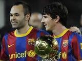 Иньеста: «По футбольным качествам лучший игрок в мире — Месси»