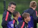 Аршавин и ван Перси приступили к тренировкам в «Арсенале»