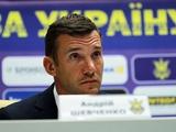 Зачем Шева сборной Украины?