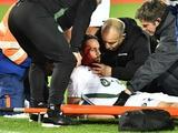 Защитник «Сент-Этьена» Суботич получил сильное рассечение и потерял сознание на поле (ФОТО)