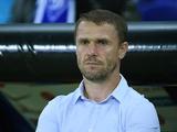Сергей Ребров: «Хачериди заверил меня и президента клуба, что изменился»