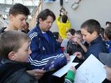 Проведи вечер с легендой футбола Олегом Саленко и сфотографируйся с «Золотой бутсой»!