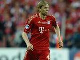 «Бавария» поздравила Тимощука с днем рождения (ВИДЕО)