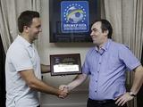 Премьер-лига вручила награду официальному сайту «Динамо» как лучшему в сезоне 2012/13