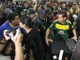 Бразильские болельщики выплеснули свой гнев на Фелипе Мелу
