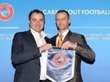 Александер ЧЕФЕРИН: «Финал Лиги чемпионов будет праздником в прекрасном городе Киеве»