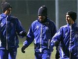 ФОТОрепортаж: открытая тренировка «Динамо» накануне матча с «Маккаби» (14 фото)