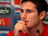 Фрэнк Лэмпард: «Англии будет сложно стать чемпионом мира-2014»