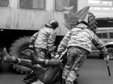 Болельщики БАТЭ подрались с тираспольской милицией