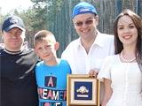 Спортивный журналист Артем Франков получил звезду «Патриот футбола»