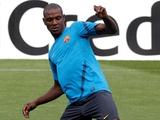 Абидаль возобновил тренировки с командой
