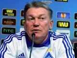Олег БЛОХИН: «Настроены показать более агрессивный и атакующий футбол»