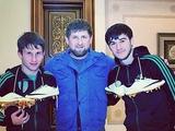 Золотой батон по-российски: покровитель «Терека» подарил игрокам золотые бутсы